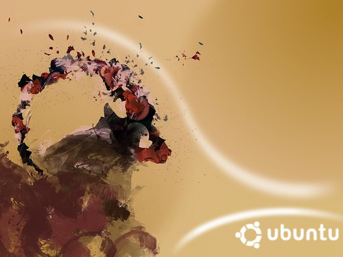Ubuntu 8.10 Intrepid Ibex Wallpapers - 2b66191-twin_blend