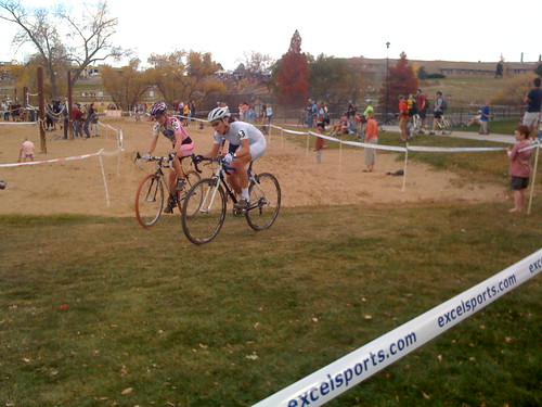 Kelli Emmit and Heather Irminger battle