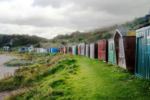 Beach Huts da Dave Cleghorn.