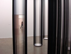 Columns in the Vienna Kunsthalle