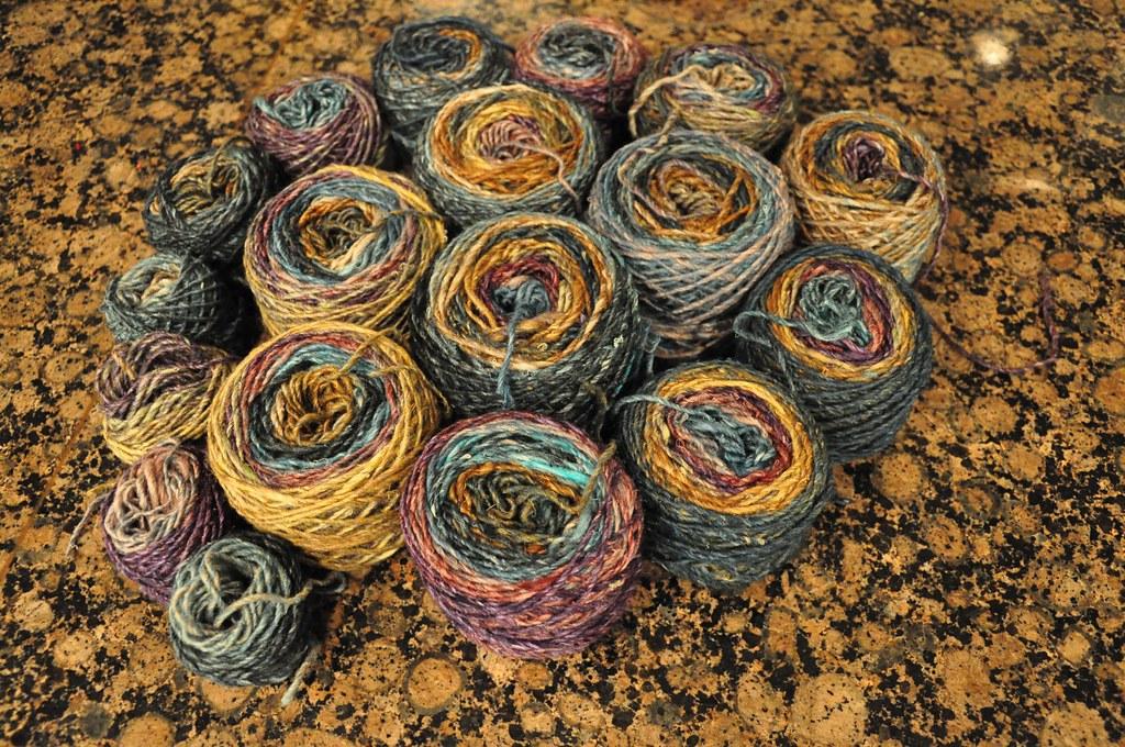 Yarn Spiral.