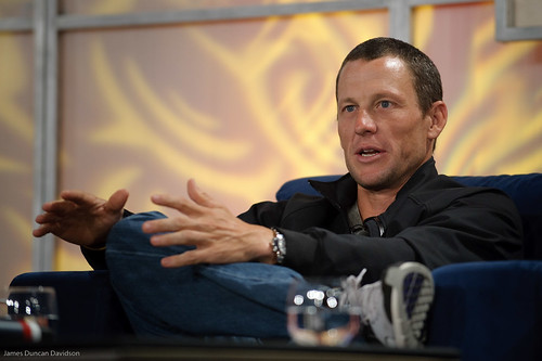 Lance Armstrong at Web 2.0 Summit 2008