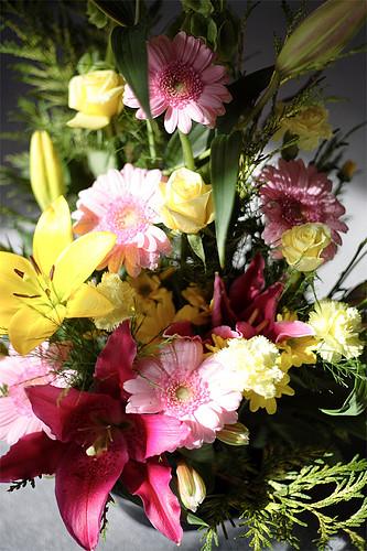poze flori - aranjamente interioare