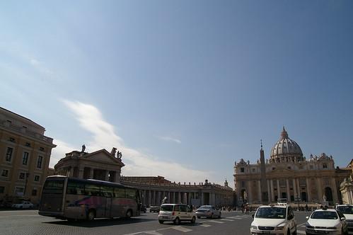 後來買了Roma pass 坐車到了梵蒂岡
