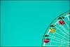 A corner of amusement (Manlio Castagna) Tags: usa colors amusement pier losangeles geometry santamonica azure manlio castagna manliocastagna manliok