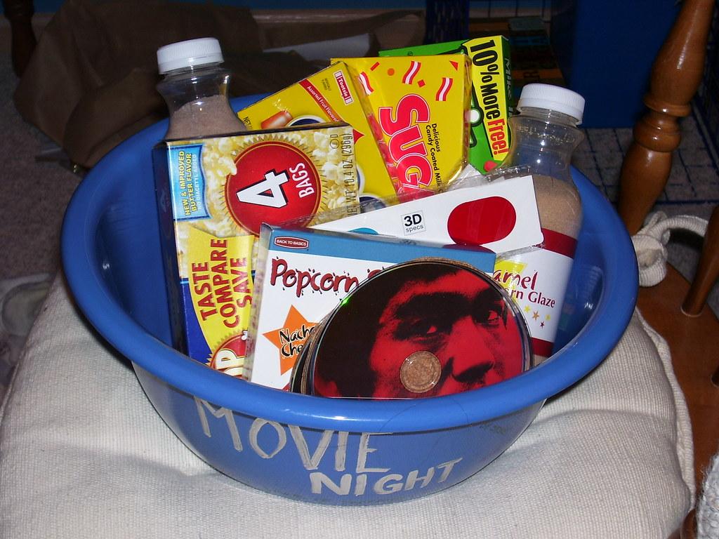 Day 12 - Movie Night!