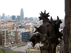 Sagrada Familia, view from Balcony