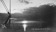Midnight Sun on Yukon (circa 1922) (DickinsonLibrary) Tags: alaska yukon midnightsun