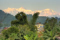 Annapurna 2, Pokara Nepal (David Fast) Tags: nepal asia sarangkot pokara himalayasn