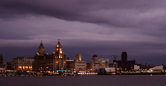 On The Waterfront (Mortarman101) Tags: clouds port liverpool river evening dock waterfront shipping mersey merseyside liverbuilding anawesomeshot