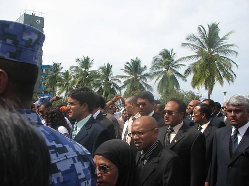 Former Maldivian President Ibrahim NasirReceives State Funeral by nerdsane