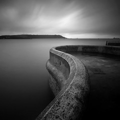 Sea Wall (Adam Clutterbuck) Tags: ocean uk greatbritain sea england blackandwhite bw seascape monochrome wall square mono coast blackwhite unitedkingdom britain plymouth bn barbican coastal devon shore elements promenade hoe gb curve bandw curved sq limitededition curving 500x500 tinside greengage adamclutterbuck sqbw bwsq showinrecentset shortedition southdevoncoast le50 winner500 winner500x500bestof limitededition50