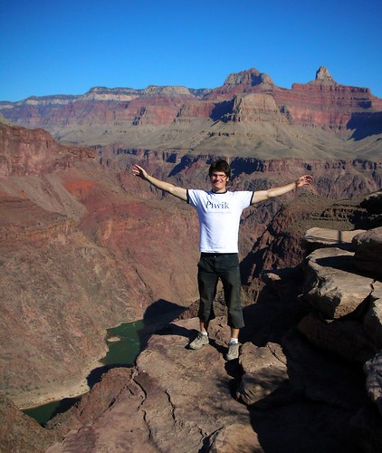 Benji at Grand Canyon