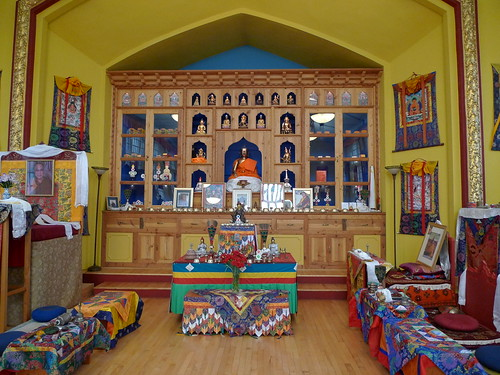 Urgyen Samten Ling Shrine Room