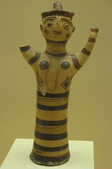 Mycenaean figurine (Mycenae) (Adrian Lazar) Tags: museum photos greece figurine mycenae archaelogical pelopponese argolis
