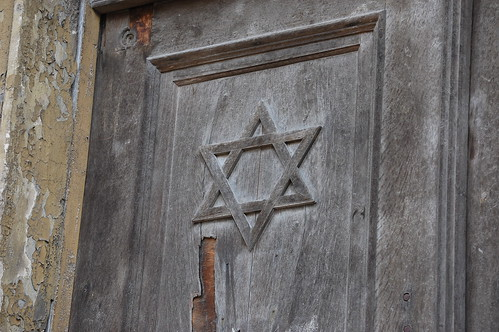 P�pa Synagogue, North Side, Door Detail