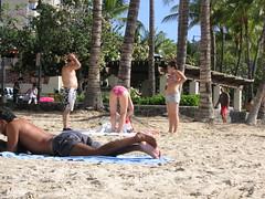 Oahu, Hawaii - Waikiki Beach