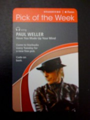Starbucks iTunes Pick of the Week - Paul Weller - Have You Made Up Your Mind