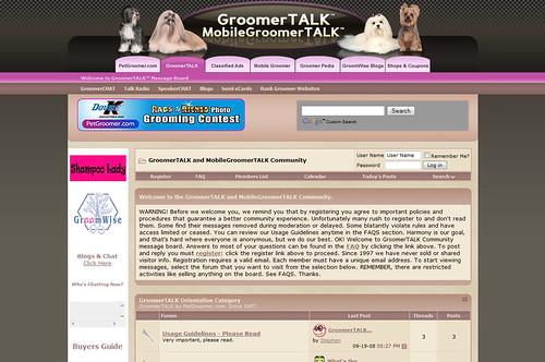 GroomerTALK
