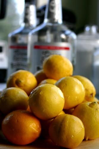 lemons + everclear