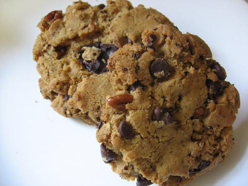 Vegan JT Cookies with Orange and Pecan