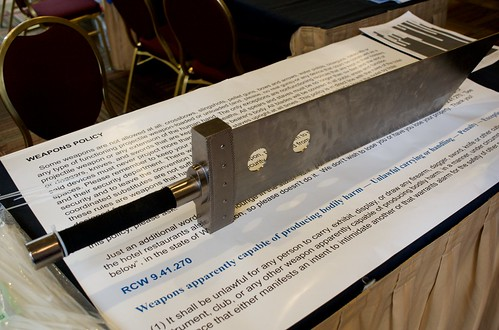 Weapon Policy, Norwescon 32