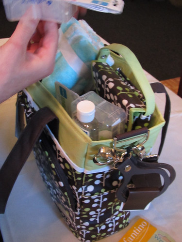 Diaper Bag + Gifts