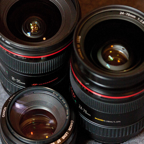 lens lense lenses Canon choose compare difference aperture