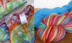 "The Cherub's Closet & Radiant Yarnworks ""Rainbow Baby"""