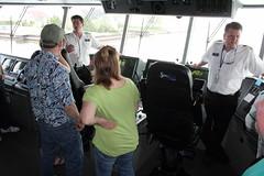 Lake Express Kewaunee Open House - June 4, 2011 (Lake Express) Tags: auto car ferry wisconsin mi michigan madison milwaukee grandrapids wi highspeed frankfort muskegon carferry lakeexpress kewaunee austal lakemichiganferry
