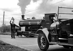 Barrington Light Railway (Kingmoor Klickr) Tags: industrial crossing cement railway level works vulcan cambridgeshire barrington foxton cemex 3865 hawthornleslie barringtonlightrailway gordonedgar