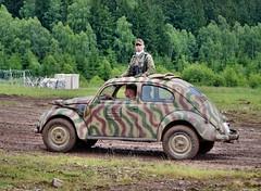 KdF-Wagen Kommandeurwagen (The Adventurous Eye) Tags: vw army nikon czech d military beetle exhibition kfer 7000 2011 kommandeurwagen kdfwagen bahna d7000 nikond7000