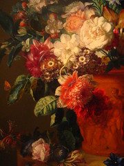 Vase of Flowers - Jan van Huysum (rick) Tags: california road trip flowers flower art painting la losangeles paint roadtrip center exhibit getty gettycenter 2008 janvanhuysum vaseofflowers