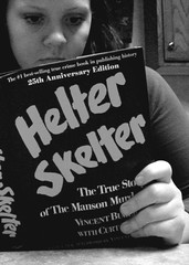 147/365: Just a book (chalupabatman) Tags: portrait blackandwhite me self reading book hands sp 365 helterskelter 365days 365day