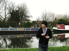 Hideki Kaji at  Last day in London -  QOS x Renette Cardigan
