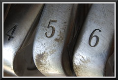 Irons (WhimsicalbyShelley) Tags: golf irons golfclubs challengeyou challengeyouwinner photofaceoffwinner pfogold thechallengefactory challengefactory