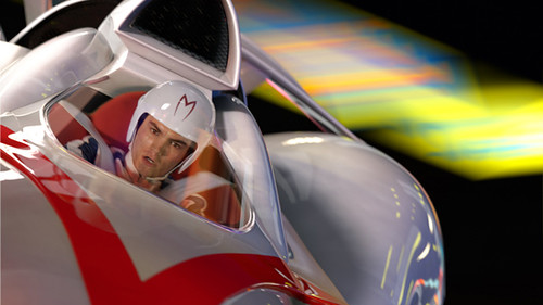 Speed Racer Movie with Emile Hirsch