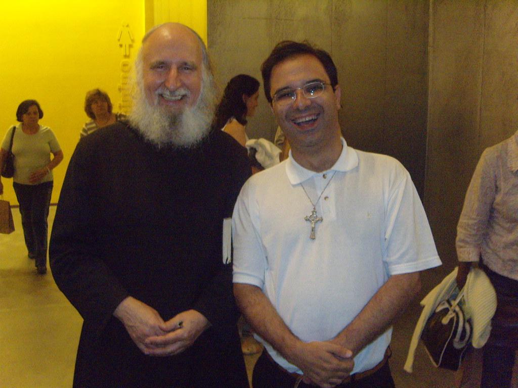 Eu e D.Anselm Grün (Me and D.Anselm Grün OSB)
