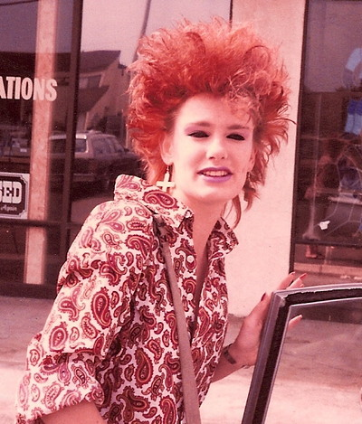 Really Bad 80s Hairstyle 3. Aaaahhhh!!! So bad its cool.