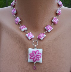 Retro Flower Power (clayangel_sc) Tags: art beauty fashion one necklace beads artist handmade originalart ooak jewelry polymerclay fimo clay gift canes sculpey handcrafted wearableart accessories bracelets earrings etsy wearable acessories brooches necklaces polymer millefiori artjewelry hypoallergenic adornments artisanjewelry canework handmadebeads artbeads handcraftedbeads pcagoe notpainted polymerclayjewelry polymerclaycanes oneofakindjewelry fauxjewelry southcarolinaartist jewelryartisan boldjewelry clayangel oneofakindpiece clayangelsc nopaintisinvolved athousandflowers finising