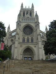 South entrance to the National Cathedral
