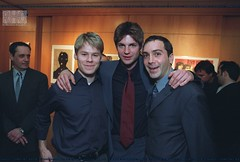 Randy Harrison, Gale Harold and Scott Lowell (Randy Harrison Fans Club) Tags: showtime premiere qaf randyharrison galeharold halsparks winonaryder peterpaige scottlowell theagill publicappearance sharongless michelleclunie robertgant queerasfolks capotescreening jackwetherall