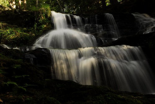 Old Wilton Reservoir Water Falls 4