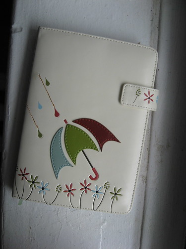 Notebook with Umbrella