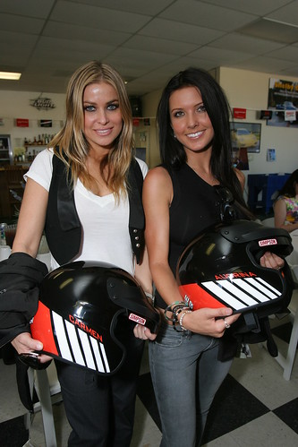 The Hills: Fashion and Hairstyles: Audrina Patridge with carmen Electra