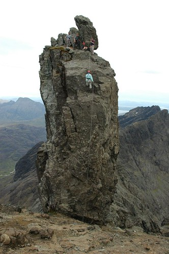 Coming off the Inaccessible Pinnacle