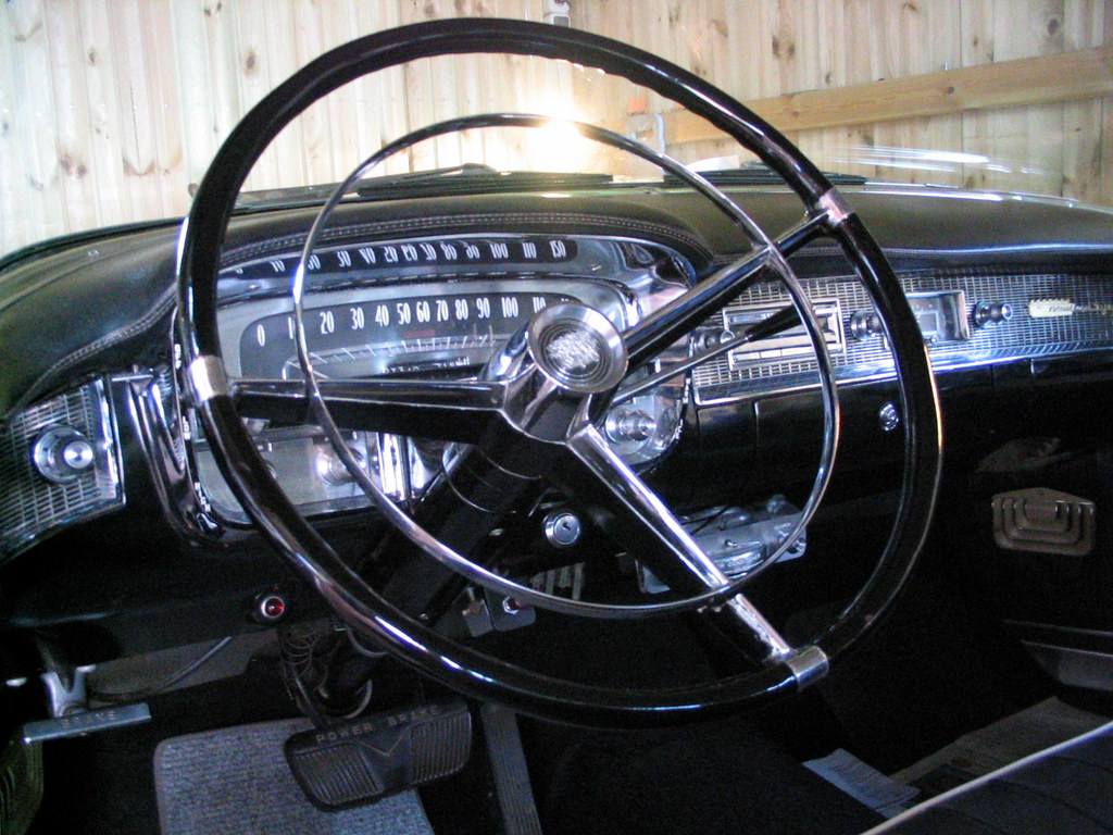1956 Steering Wheel in perfect restored condition