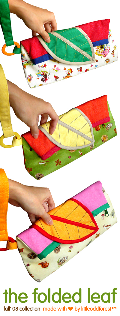 The Folded Leaf Wristlet
