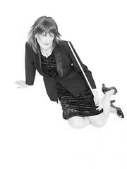 Julie 06-02-2008 213 (Julie Bracken) Tags: old red portrait fashion hair tv cd mini skirt crossdressing tgirl transgender mature tranny transvestite crossdresser crossdress kinky tg trannie mtf m2f feminized enfemme xdresser tgurl feminised transsister julieb85
