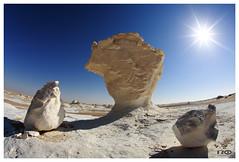Ups, wrong Planet (Monika Ostermann) Tags: sun white landscape desert wind urlaub egypt struktur structure erosion fels landschaft sonne weiss ferien wüste kreide whitedesert saveearth platinumphoto aplusphoto weissewüste kreidefels